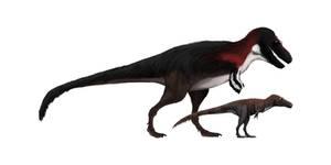 Deinodon and Aublysodon