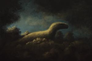 Dromaeosaurus Impressionism