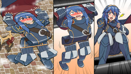 Lucina Flattened Out by TwentySevenTheGuy