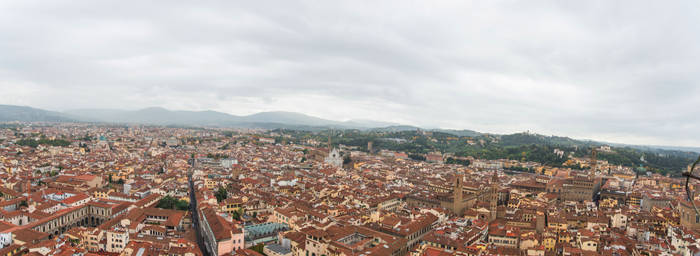 Atop the Florence Cathedral by Thrakki