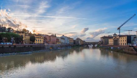 Ponte Vecchio by Thrakki
