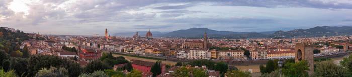 Florence Panorama Light by Thrakki