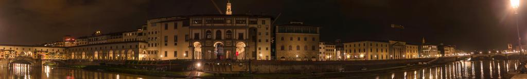 Riverside View in Florence by Thrakki