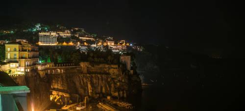 The Seaside Cliffs of Sorrento by Thrakki