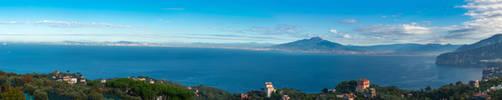 The Grand Backdrop of Sorrento by Thrakki