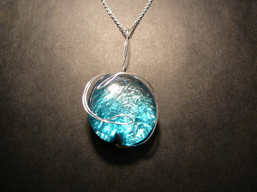 Bright blue pendant by fiyapheonix on deviantart bright blue pendant by fiyapheonix aloadofball Gallery