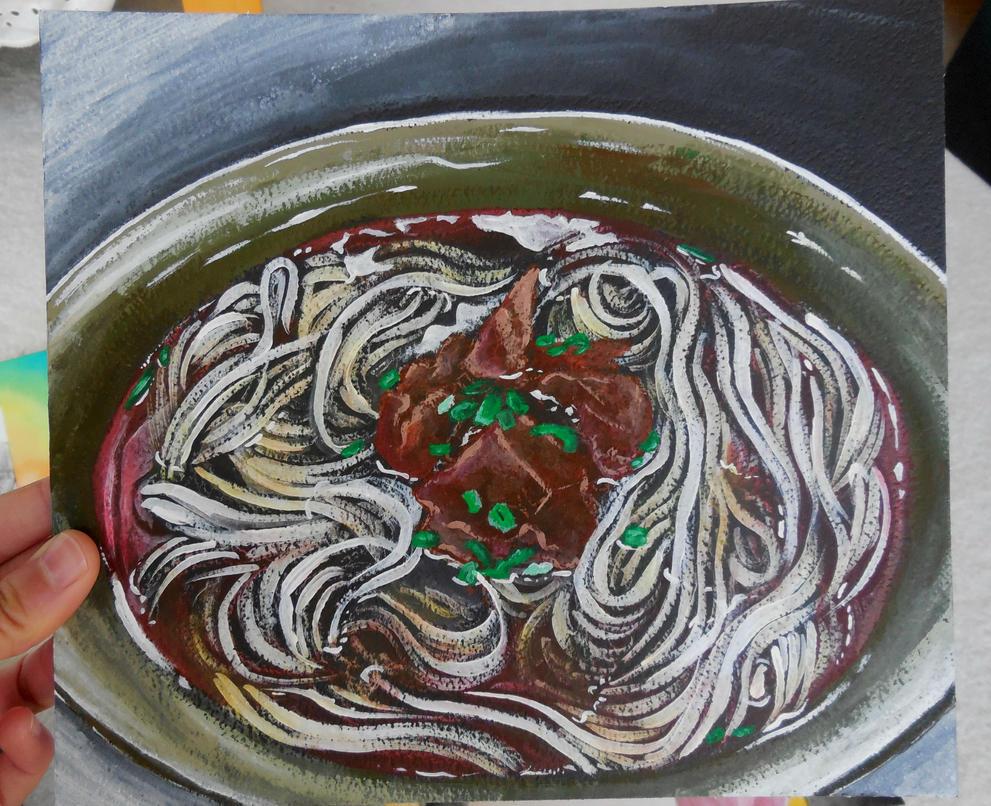 Noodles by fiyapheonix