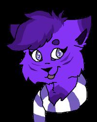 Purple headshot