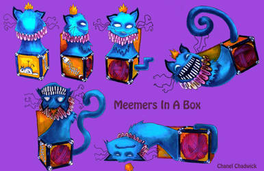 Meemers Jack in a box Cat Character Sheet