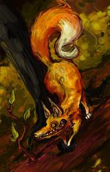 Wild Fox by omgitschanel
