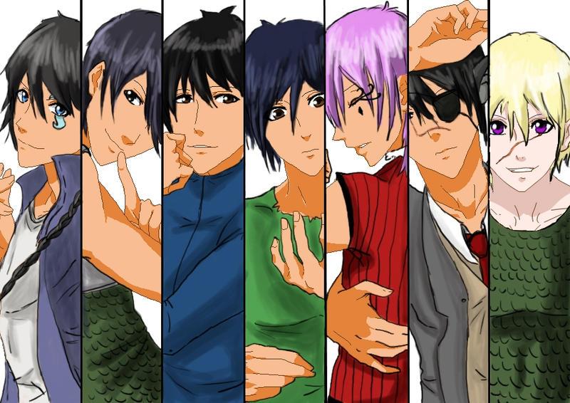 The Boys by Azedarach