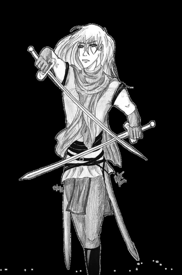 Gabriel - assassin by Azedarach