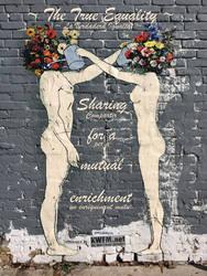 The #TrueEquality   Sharing = mutual enrichment by KWFMdotnet