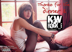 KW ROCK_! by KWFM.net _ Thanks for the dinner...