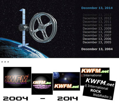 KWFM.net ...10 Years old, 10 Anos, 10 Ans, 10 Anys