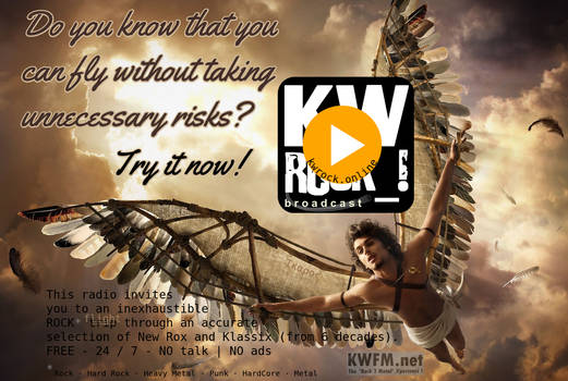 KW ROCK_! by KWFM.net _ ...you can fly...