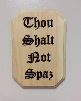 Ye Old Wooden Calligraphy