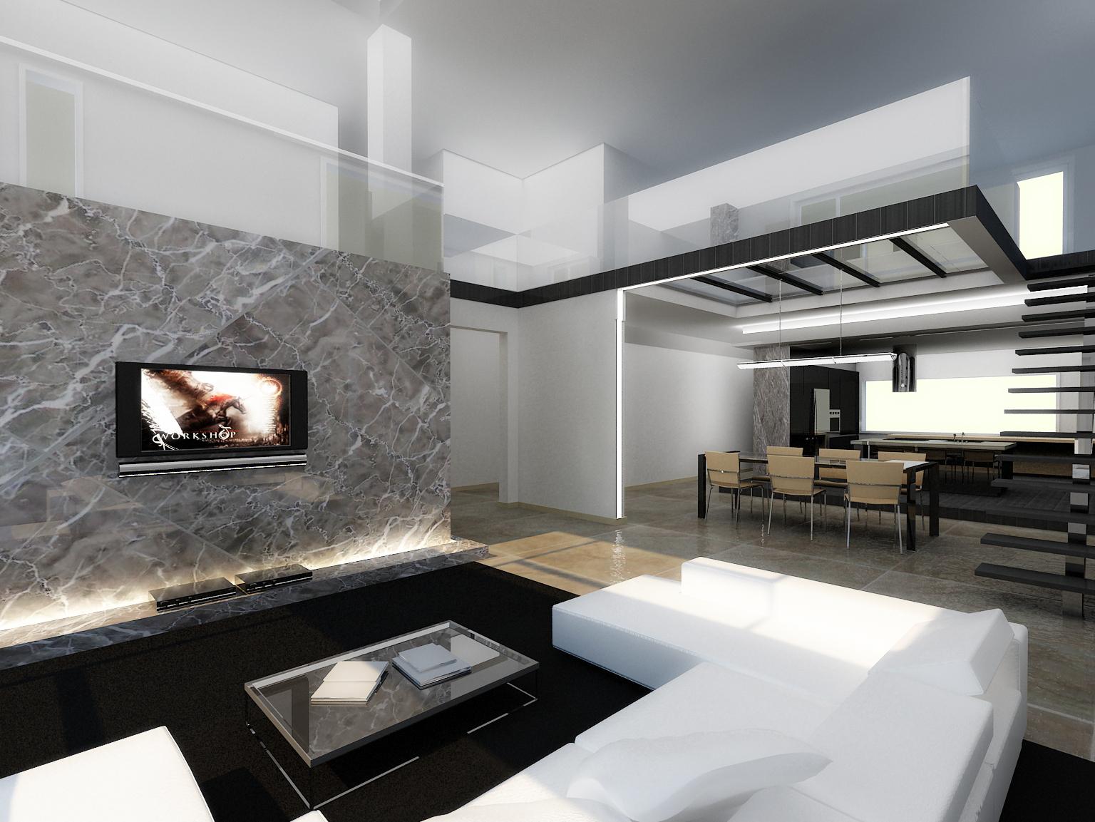 modern interior by longbow0508 on DeviantArt