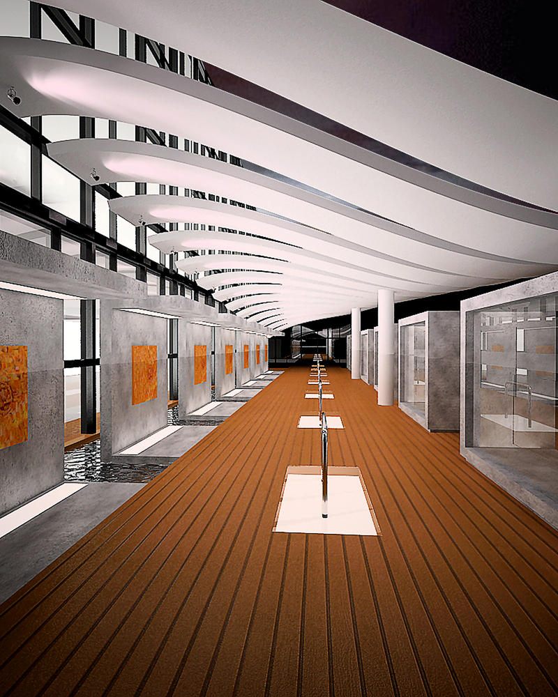 Library Design Exhibition By Longbow0508