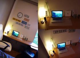 Mac workstation by afivos