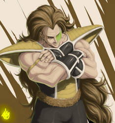 Raditz Again by rob3rtojr