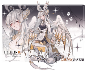 [CLOSE] Heldlin easter auction #3 by icemugan