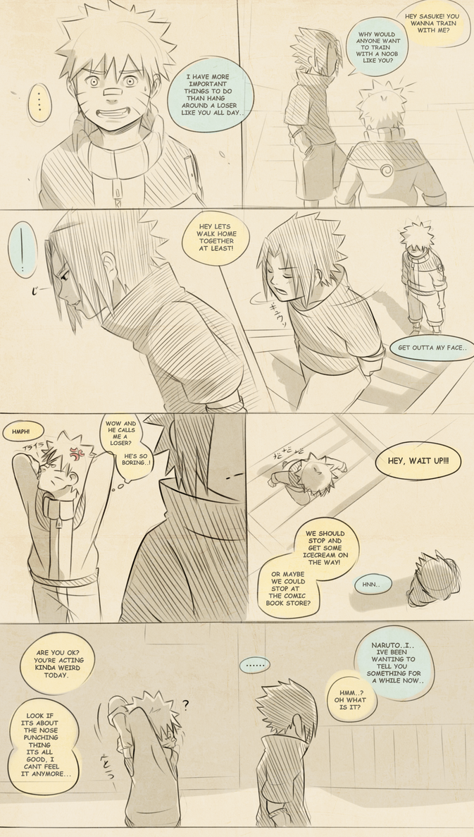 Naruto Comic: Hidden Secret (Page 1) by Uzucake