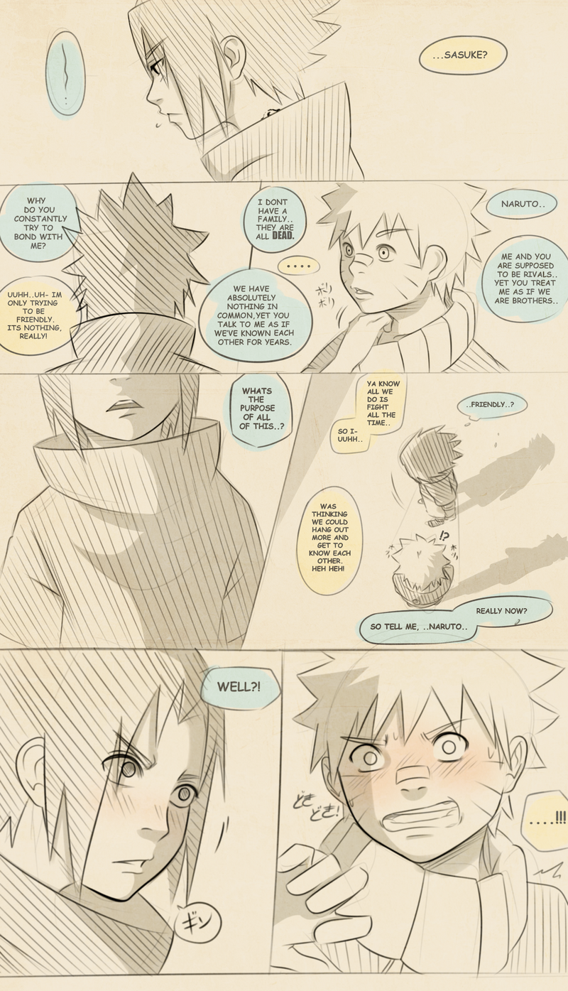 Naruto Comic: Hidden Secret (Page 2) by Uzucake