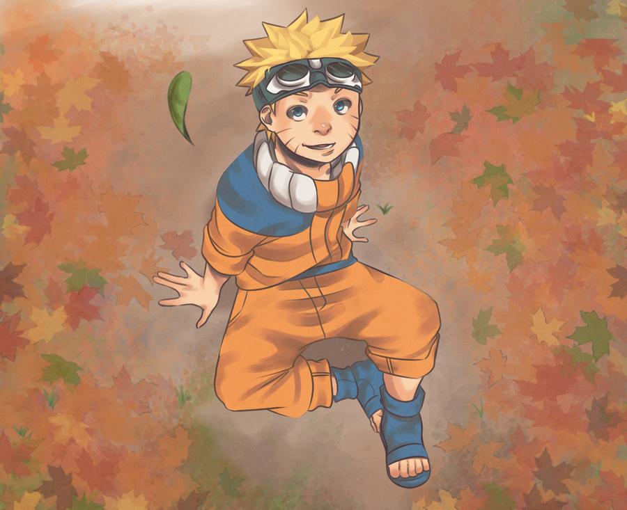 Falling Leaves by Uzucake