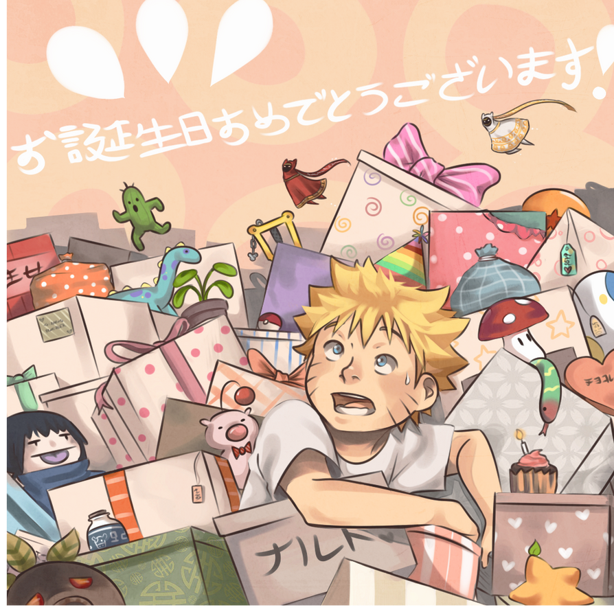 To Naruto: Happy Birthday! by Uzucake