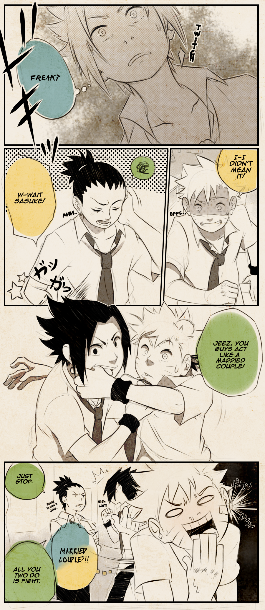 Naruto: Unbreakable Bonds (P8) by Uzucake