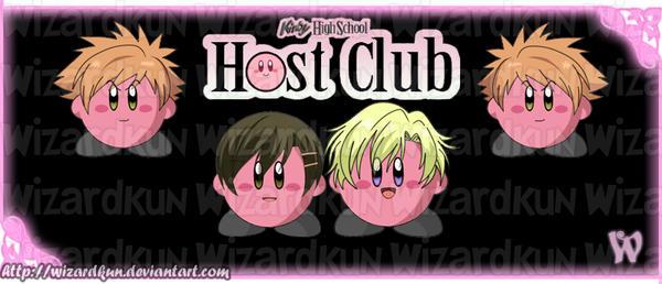 Kirby High School Host Club by Wiz-Dan