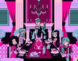 Dangan Academy 02: Last Supper by Wiz-Dan
