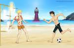 Beach Grail War by Wiz-Dan