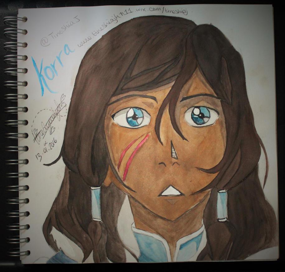 Avatar Korra by Tinny-xxx