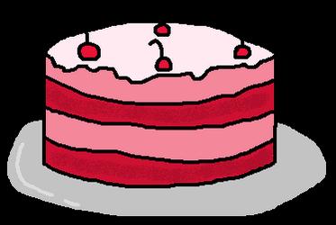Cake is your reward by MagicDoggo