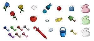 Ib - Items