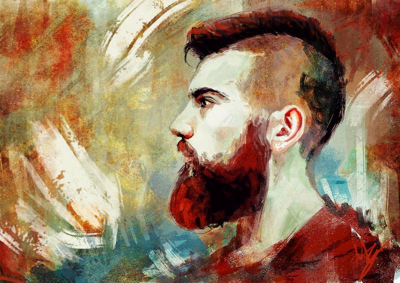 rgd beard by silentlights