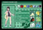 Lara - Johto Trainer Card