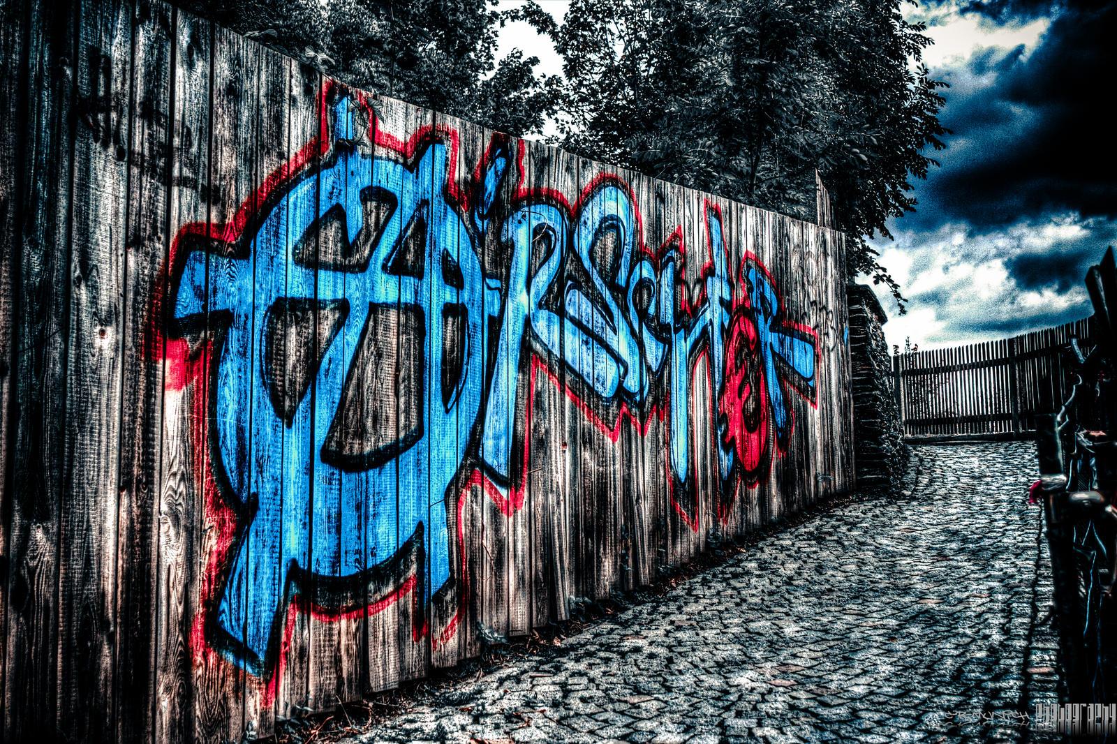 german graffiti artist by c r munich on deviantart. Black Bedroom Furniture Sets. Home Design Ideas
