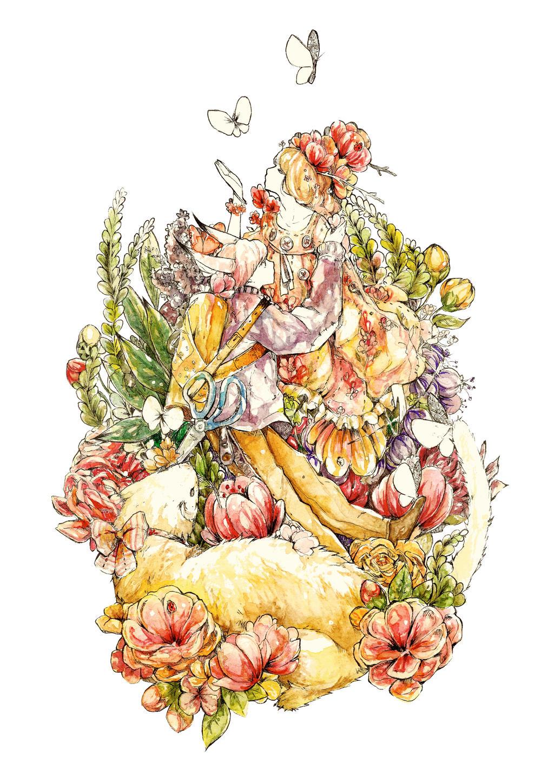 Flower-bride copy by Na0h