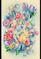 Happy Artbook by Naomame