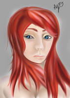 Red Haired Whatever by Artiphax
