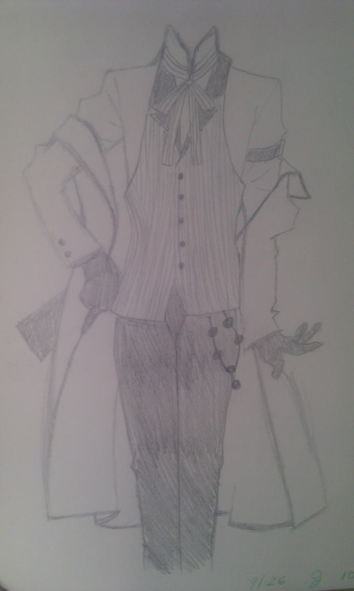 Grell's clothes by loveandpeacecifer