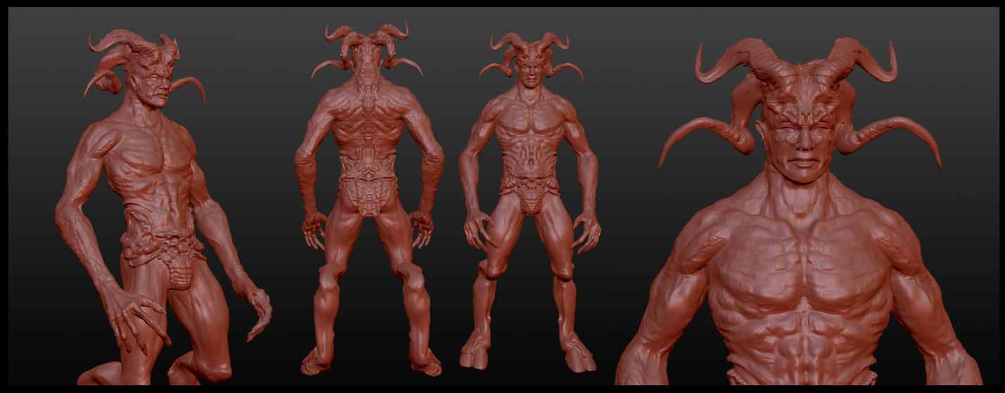 Demon 3d by jafaime