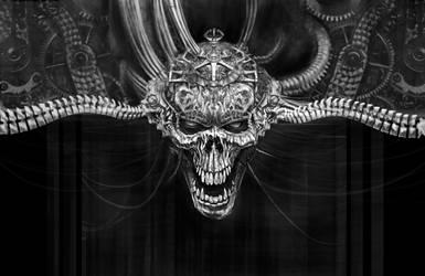 skull machine.