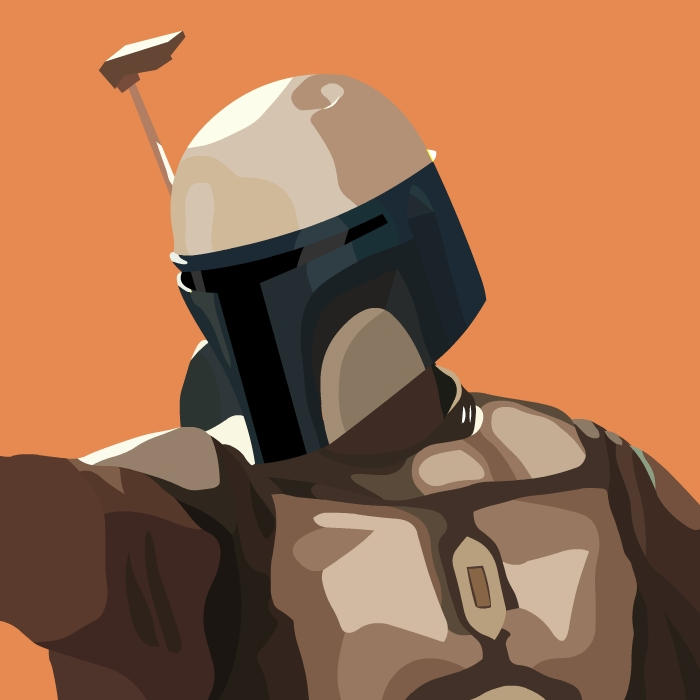 StarWars Jango fett by legsley