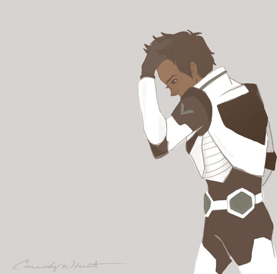 Black Paladin Lance by LittleWheat