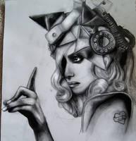 Lady GaGa Telephone by ForeverMissJerri-Kay
