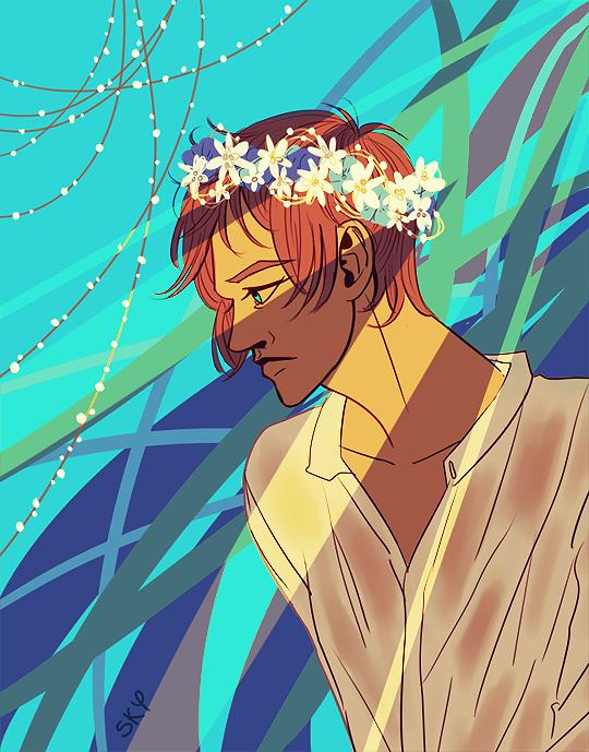 El Rey de las Flores by Enderkichi